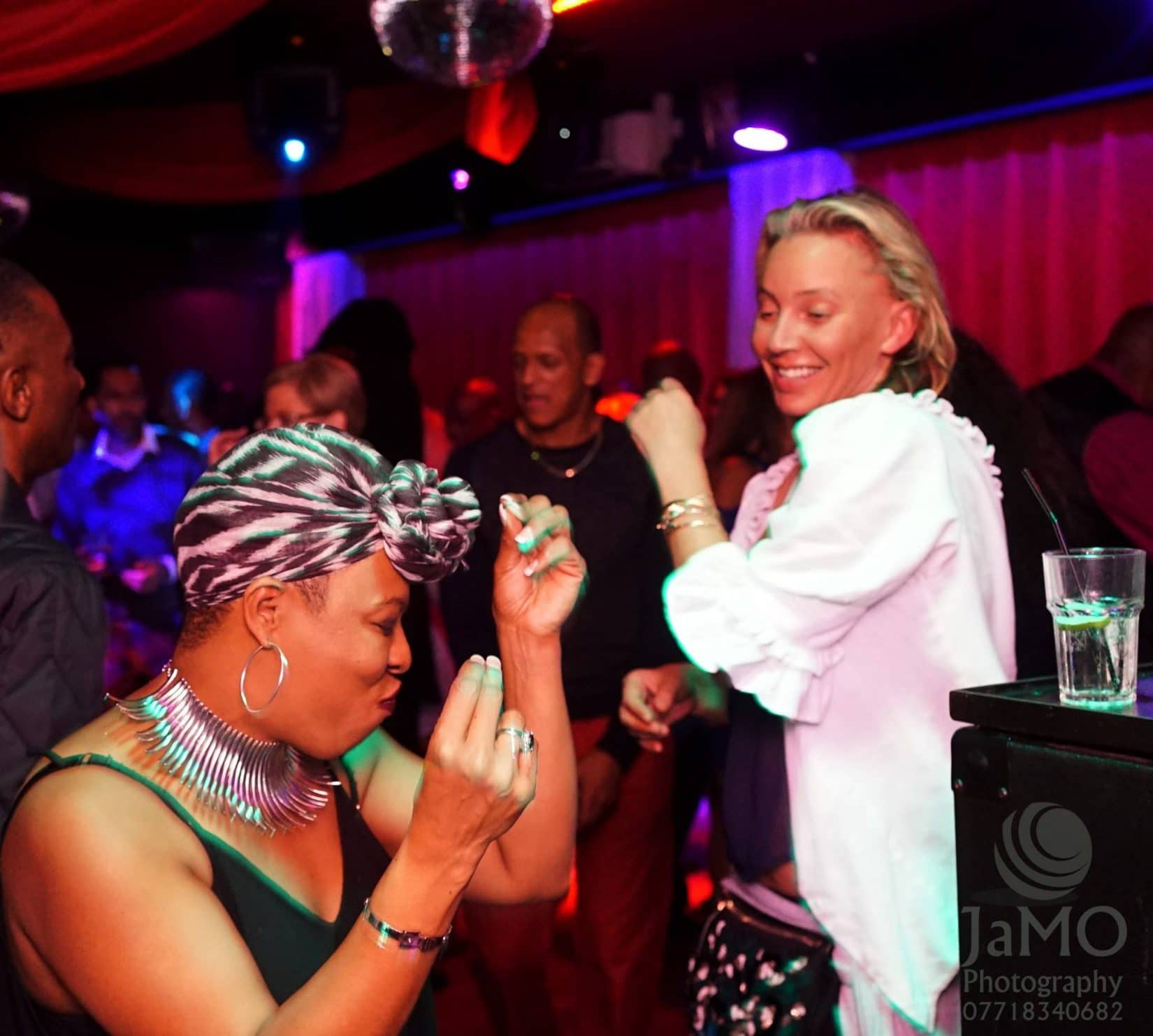 Photo Gallery image of Soulful Grown Up people having a blast at RTT Soul Night 1