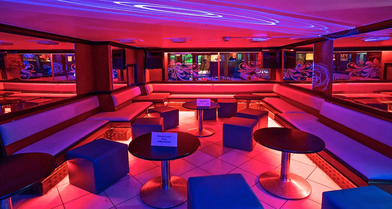 BOOTHS WITH VIP BAR