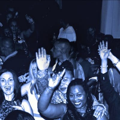 Happy soul funky people at RTT Soul Night