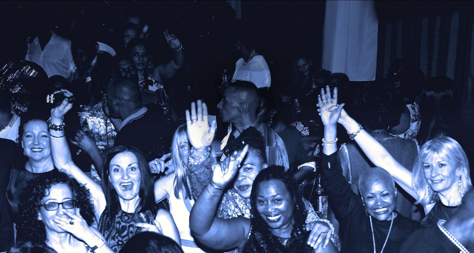 Happy soul funky people at RTT Soul Night
